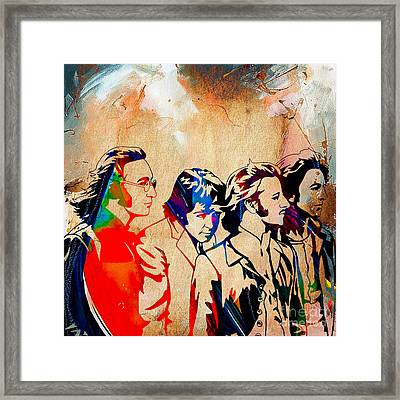 The Beatles Collection Framed Print