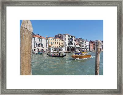 Venice, Italy Framed Print by Ken Welsh