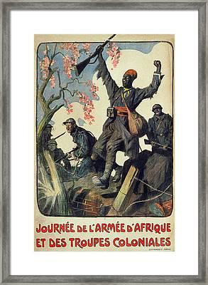 World War I French Poster Framed Print by Granger