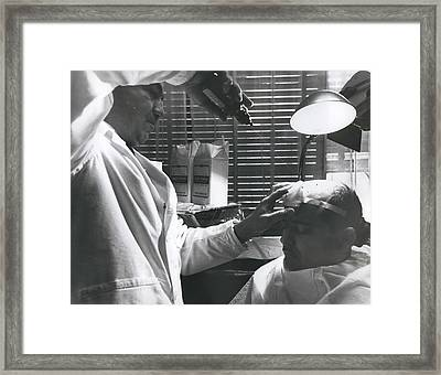 Sculpted Head Of Paul Mccartney Framed Print by Retro Images Archive