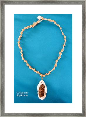 Aphrodite Gamelioi Necklace Framed Print