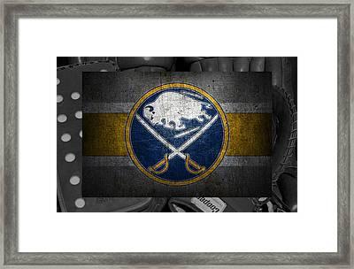 Buffalo Sabres Framed Print by Joe Hamilton