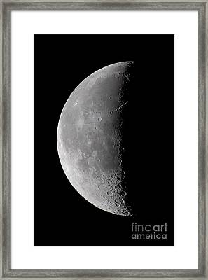 23 Day Old Waning Moon Framed Print by Alan Dyer