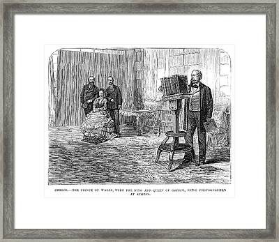 Edward Vii (1841-1910) Framed Print