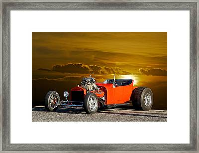 '23 Ford 'hemi T' Roadster Framed Print