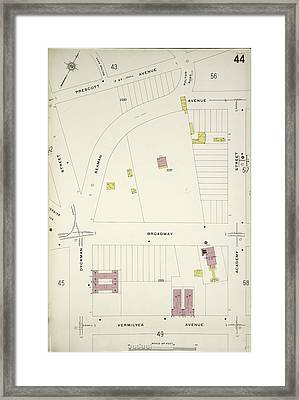Manhattan, V. 12 Framed Print