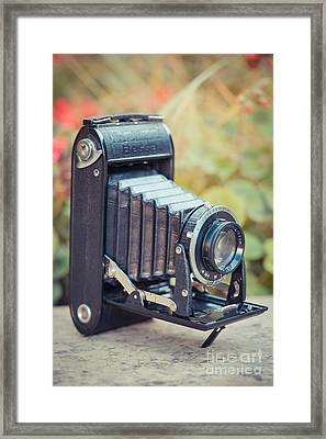 Old Vintage Camera Framed Print