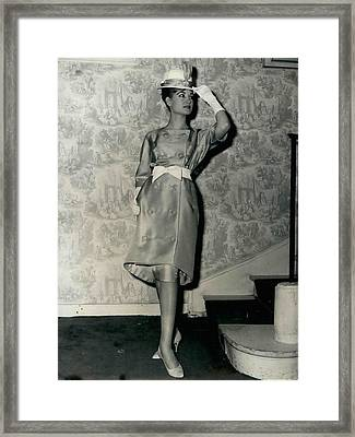 Paris Fashions Framed Print by Retro Images Archive