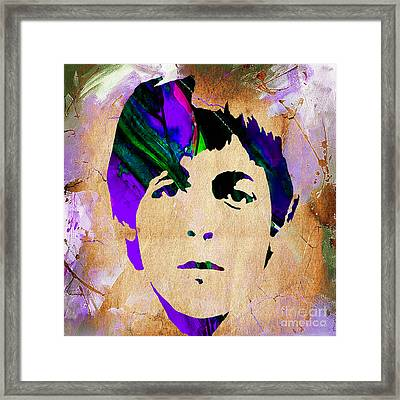 Paul Mccartney Collection Framed Print