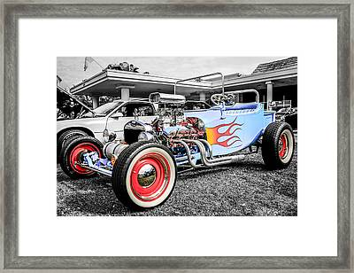 23 Rod Framed Print by Chris Smith