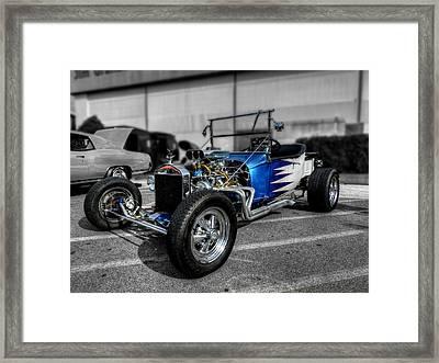 '23 T-bucket 001 Framed Print by Lance Vaughn