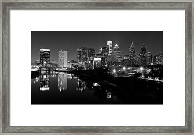 23 Th Street Bridge Philadelphia Framed Print by Louis Dallara
