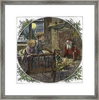 Thomas Nast Santa Claus Framed Print