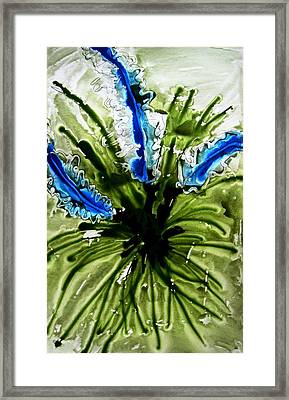 Heavenly Flowers Framed Print by Baljit Chadha