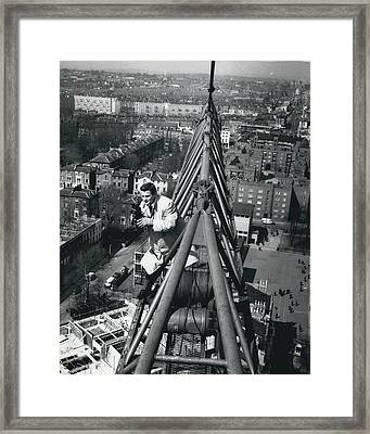 New York City Tower Framed Print by Retro Images Archive