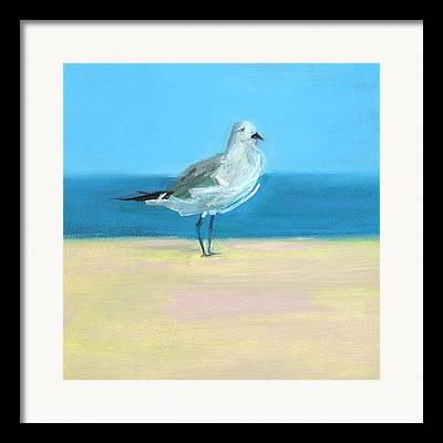 Shore Bird Framed Prints