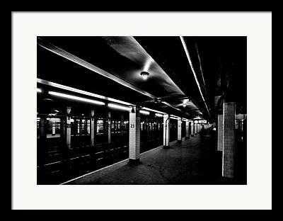 London Tube Framed Prints