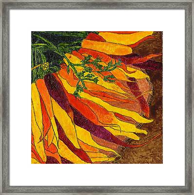 24 Carrots Gold Framed Print