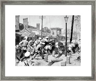 China Boxer Rebellion Framed Print