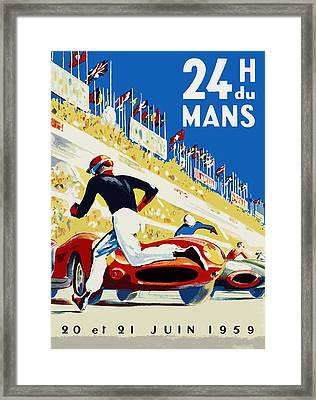 24 Hour Le Mans 1959 Framed Print