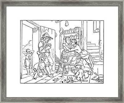 Irving Rip Van Winkle Framed Print