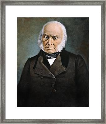 John Quincy Adams Framed Print by Granger