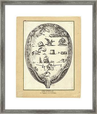 Stefano Della Bella Italian Framed Print by Litz Collection
