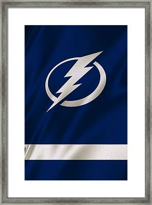 Tampa Bay Lightning Framed Print by Joe Hamilton