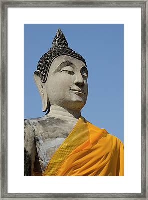 Thailand, Ayutthaya Framed Print by Cindy Miller Hopkins