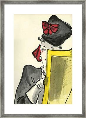 WomenÕs Fashion 1930s 1939 1930s Uk Framed Print by The Advertising Archives