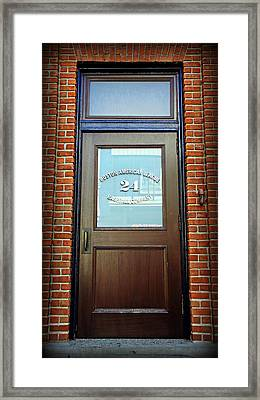 24 Yawkey Way Framed Print by Stephen Stookey