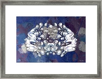 24x36 Blow 016 Framed Print