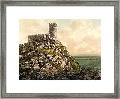 Landscape With A Man Killed Framed Print by MotionAge Designs