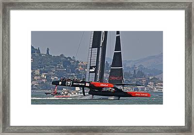 America's Cup Oracle Framed Print