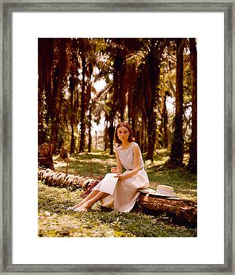 Audrey Hepburn Framed Print by Silver Screen