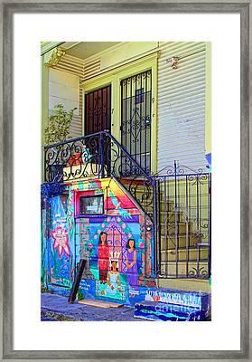 25 Balmy Alley San Francisco Framed Print