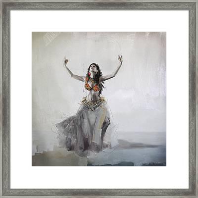 Belly Dancer 5 Framed Print by Corporate Art Task Force