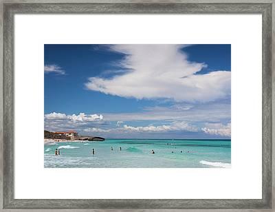 Cuba, Matanzas Province, Varadero Framed Print by Walter Bibikow