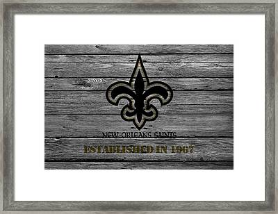 New Orleans Saints Framed Print