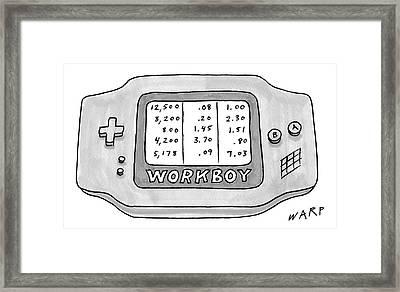 New Yorker September 4th, 2006 Framed Print by Kim Warp