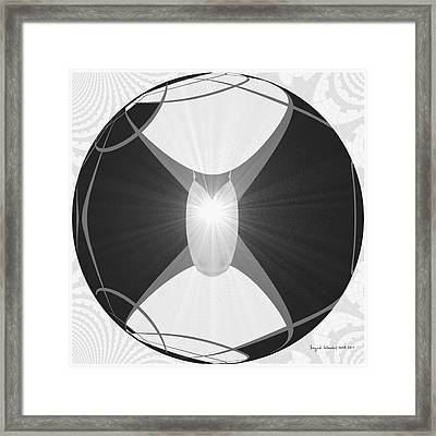 250 - The Center   Framed Print by Irmgard Schoendorf Welch