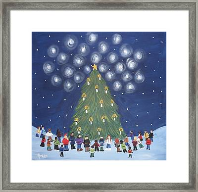 26 Angels In Memory Of Sandy Hook Victims Framed Print by Tammy Rekito