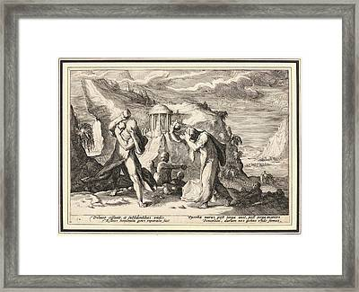 Anonymous After Hendrick Goltzius Dutch Framed Print