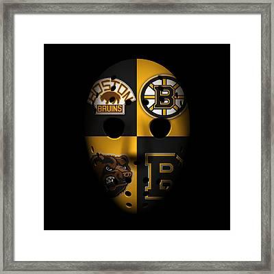 Boston Bruins Framed Print by Joe Hamilton