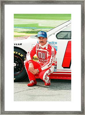 Terry Labonte Framed Print by Retro Images Archive