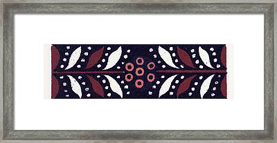 Greek Ornament And Etruscan Ornament Framed Print by Litz Collection