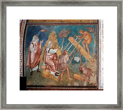 Italy, Umbria, Perugia, Assisi, Upper Framed Print