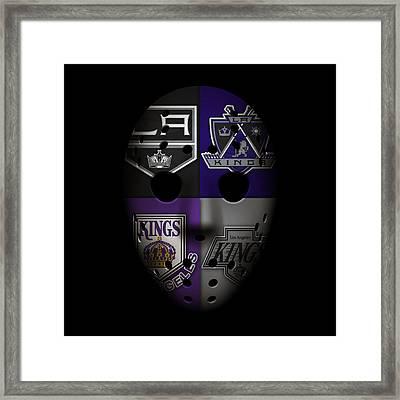 Los Angeles Kings Framed Print