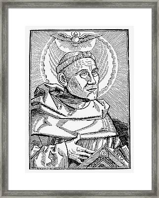 Martin Luther (1483-1546) Framed Print