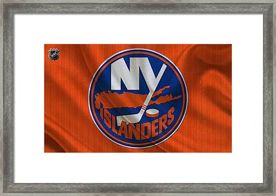 New York Islanders Framed Print by Joe Hamilton